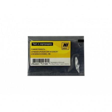 Чип к картриджу HP CLJ CP1525/CM1415 (CE320A/CC530A), Bk, 2K