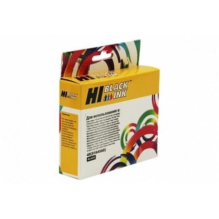 Картридж Hi-Black (HB-51645AE) для HP DJ 850C/970C/1600C, №45, Bk, новый