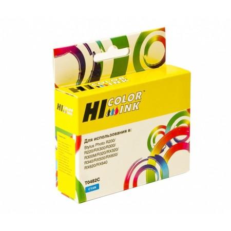 Картридж Hi-Black (HB-T0482) для Epson Stylus Photo R200/R300/RX500/RX600, C