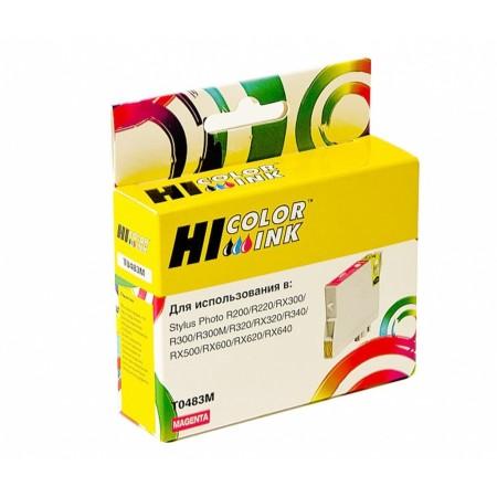 Картридж Hi-Black (HB-T0483) для Epson Stylus Photo R200/R300/RX500/RX600, M
