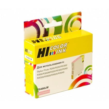 Картридж Hi-Black (HB-T0486) для Epson Stylus Photo R200/R300/RX500/RX600, LM