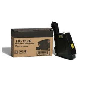 Тонер-картридж Kyocera FS-1060DN/1025MFP/1125MFP, TK-1120, 3К, Оригинал