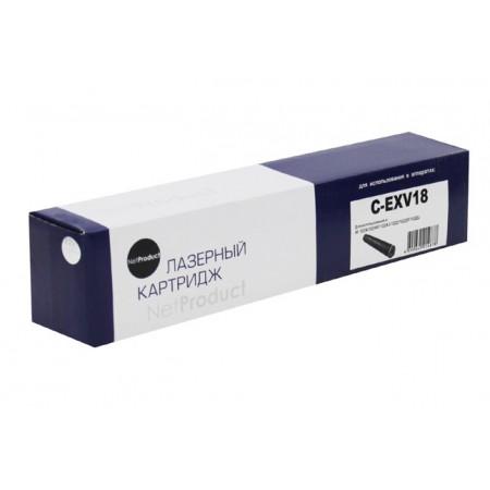 Тонер-картридж Canon iR 1018/1020/1022/1024 (NetProduct) NEW C-EXV18, 8,4К