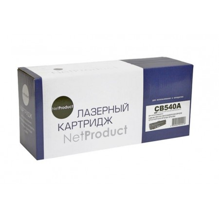 Картридж HP CLJ CM1300/CM1312/CP1210/CP1215, Bk, NetProduct (N-CB540A) 2,2K