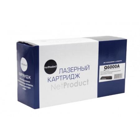 Картридж HP CLJ 1600/2600/2605 (NetProduct) NEW Q6000A, BK, 2,5K, ВОССТАН.