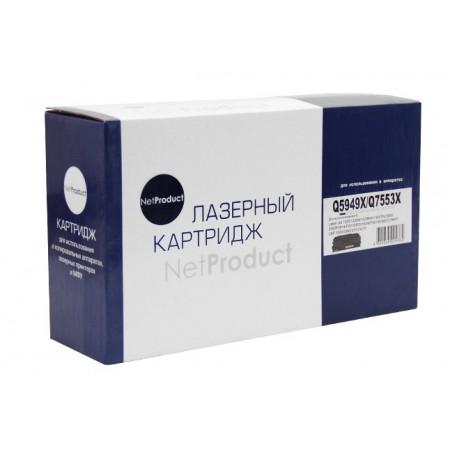 Картридж HP LJ P2015/1320/3390/3392, Универсальный, NetProduct (N-Q5949X/Q7553X) 7K