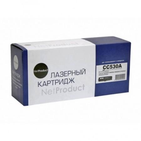 Картридж HP CLJ CP2025/CM2320/Canon LBP7200 (NetProduct) NEW CC530A/Canon718/CF28, BK, 3,5K