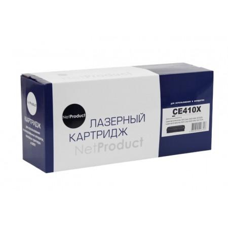 Картридж HP CLJ Pro300 Color M351/M375/Pro400 Color/M451, Bk, NetProduct (N-CE410X) 4K