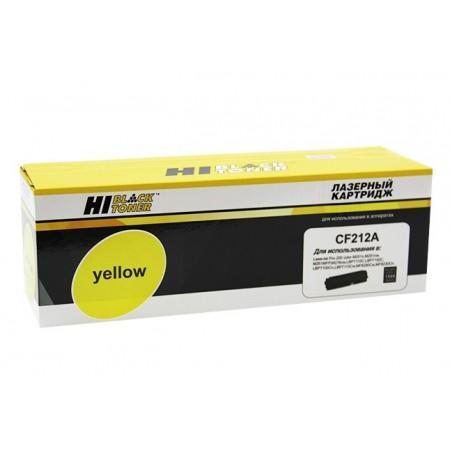Картридж HP CLJ Pro 200 M251/MFPM276 Hi-Black (HB-CF212A) №131A, Y, 1,8K