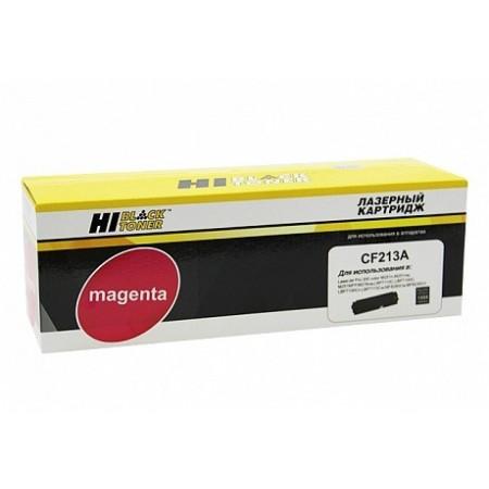 Картридж HP CLJ Pro 200 M251/MFPM276 Hi-Black (HB-CF213A) №131A, M, 1,8K