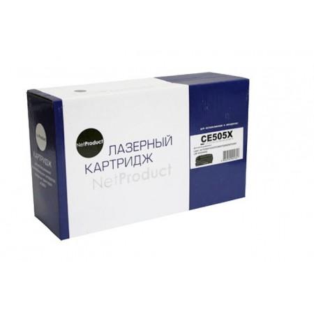 Картридж HP LJ P2055/P2035/Canon №719, NetProduct (N-CE505X) 6,5K