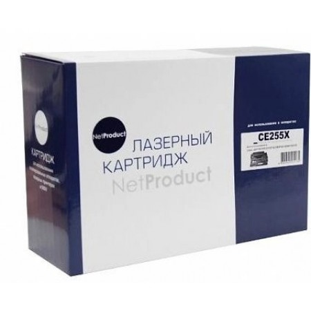 Картридж HP LJ P3015, NetProduct (N-CE255X), 12,5K