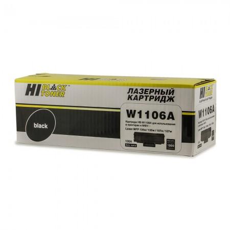 Картридж HP Laser 107a/107r/107w/MFP135a/135r/135w, 1K (без чипа) (N-W1106A)  Hi-Black