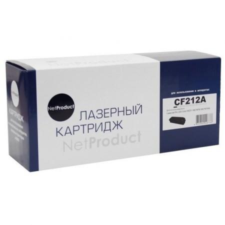 Картридж HP CLJ Pro 200 M251/MFPM276,NetProduct (N-CF212A) №131A, Y, 1,8K