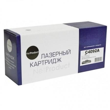 Картридж HP LJ 1100/3200/Canon LBP 800/810/1110/1120, NetProduct (N-C4092A/EP-22), 2,5K