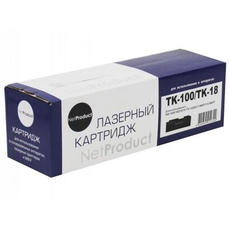 Тонер-картридж NetProduct (N-TK-100/TK-18) для Kyocera KM-1500/FS-1020, 7,2K