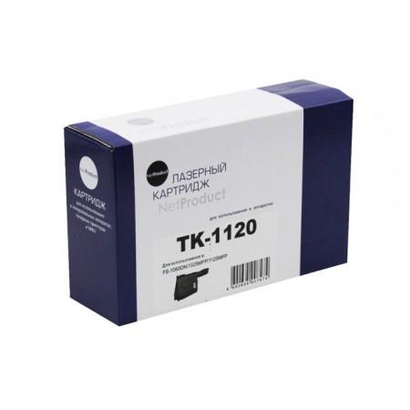 Тонер-картридж NetProduct (N-TK-1120) для Kyocera FS-1060DN/1025MFP/1125MFP, 3K