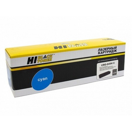 Картридж Hi-Black (HB-№045H C) для Canon LBP-611/613/MF631/633/635, C, 2,2K