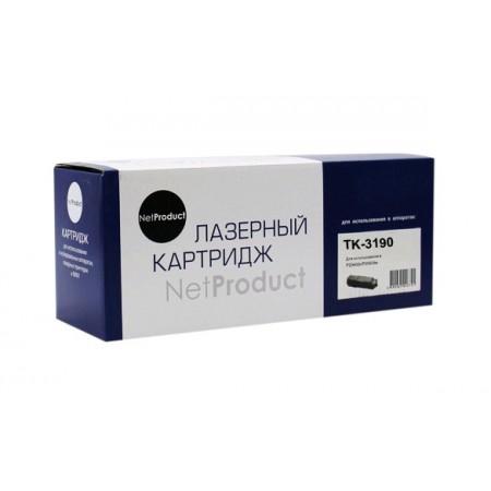 Тонер-картридж NetProduct (N-TK-3190) для Kyocera P3055dn/P3060dn, 25K, с чипом