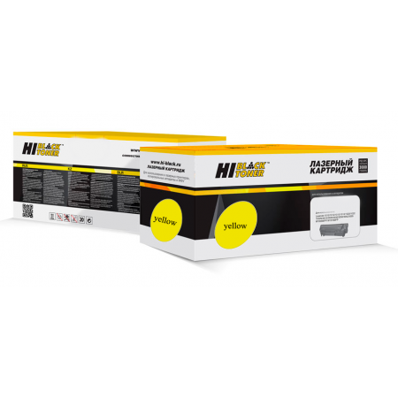 Тонер-картридж Hi-Black желтый для OKI C3100/C3200/C5100/C5150/C5200/C5300/C5400 3K