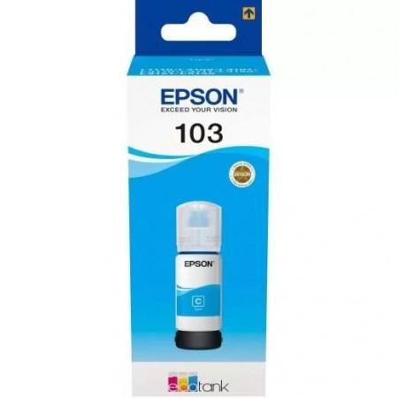 Чернила Epson L3100/3110/3150 103C C13T00S24A голубой (65мл)