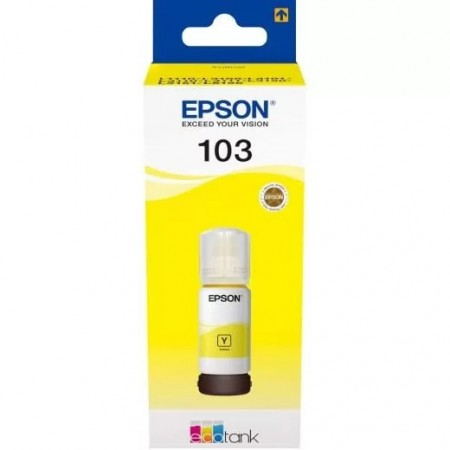 Чернила Epson L3100/3110/3150 103Y C13T00S44A желтый (65мл)