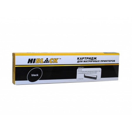 Картридж Epson LX/FX-800/300/400 MX-80 (Hi-Black) BK, 10m