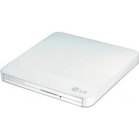 Внешний Оптический привод / GP50NW41.AUAE12W / LG DVD-RW ext. White Slim Ret. USB2.0