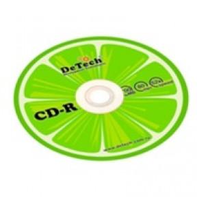 Диск CD-R 700Mb 52х DeTech