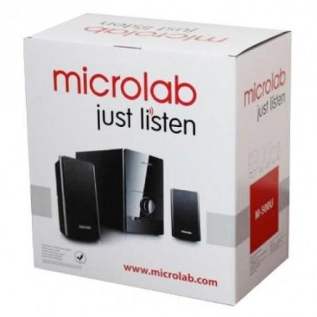 Активная акустическая система MICROLAB M-500U/2.1 черные (40W RMS USB, SD)