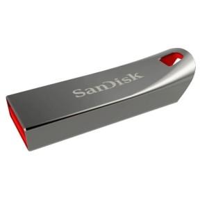 Память USB 2.0 Sandisk 32Gb Cruzer Force SDCZ71-032G-B35 USB2.0 серебристый/красный