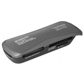 Defender Универсальный картридер Ultra Rapido USB 2.0, 4 слота / 83261 /
