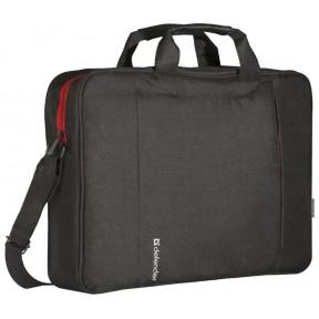 "Сумка Defender для ноутбука Geek 15.6"" черный, карман / 26084 /"