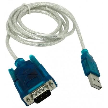 Кабель-переходник USB Am -> RS-232 DB9M, винты ( добавляет в систему новый COM порт) VCOM <VUS7050> / VUS7050