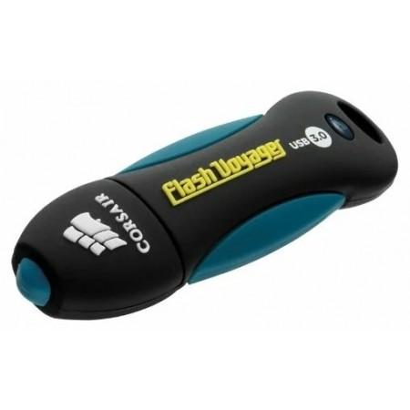 Память USB 3.0 16 GB Corsair Voyager CMFVY3A-16GB USB3.0 черный/синий