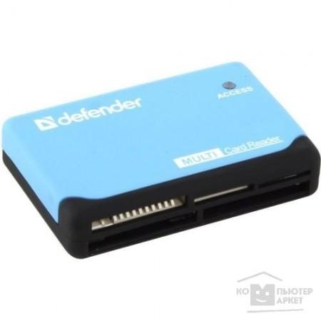 Defender Универсальный картридер Ultra USB 2.0, 5 слотов / 83500 /