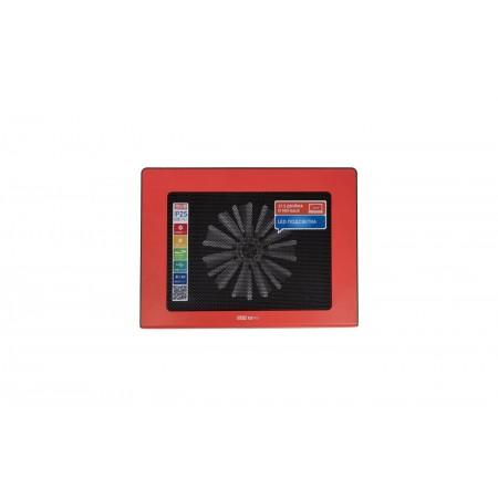 "Подставка для ноутбука STM IP25 Red Laptop Cooling IP25 Red (17,3"""", 1x(150x150), plastic+metal mesh)"