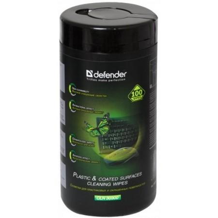 Чистящие салфетки DEFENDER CLN30300 для поверхностей (100шт)