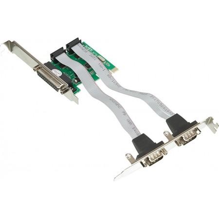 Контроллер PCI-E WCH382 1xLPT 2xCOM Ret