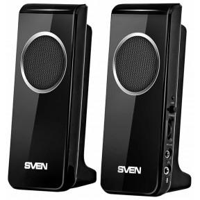Колонки SVEN 314 (4 Вт), USB, чёрный SV-0110314BK