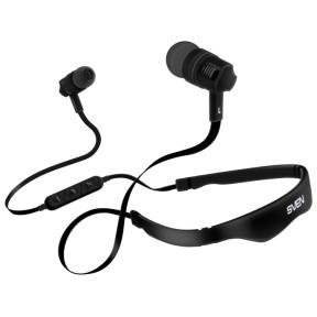 Беспроводные внутриканальные стереонаушники с микрофоном SVEN E-215B, черный (Bluetooth) / SV-016760 /