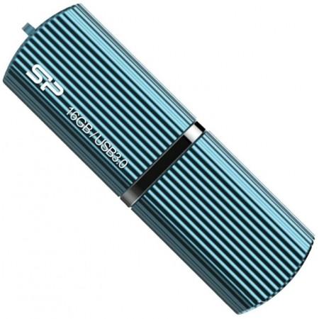 Память USB 3.0 Silicon Power 16Gb Marvel M50 SP016GBUF3M50V1B USB3.0 голубой