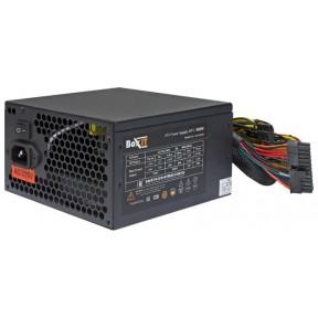 Блок питания ATX BoxIT JM-A600w 120mm fan/20+4P/P8(4+4) 600mm/P(6+2)x2/APFC black