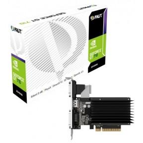 Видеокарта nVidia PCI-E 2Gb GeForce GT 710 64Bit Palit (NEAT7100HD46-2080H)