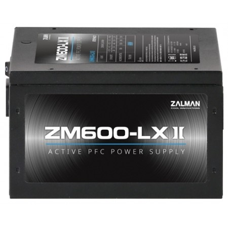 Блок питания 600W Zalman ZM600-LXII BOX