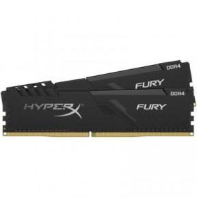 Модуль памяти для компьютера DIMM DDR4 64GB Kingston 3200MHz CL16 (Kit of 2) HyperX FURY Black HX432C16FB3K2/64
