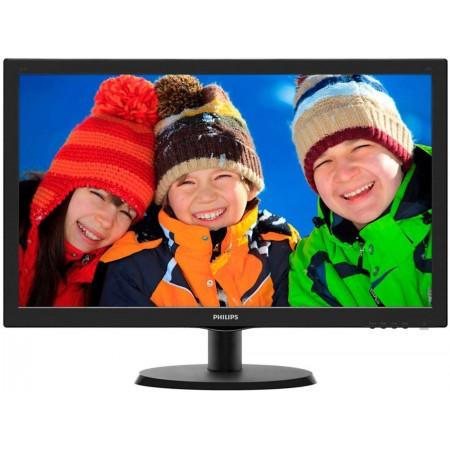 """Монитор 21.5"""" PHILIPS 223V5LHSB2/00(01) Black (LED, 1920x1080, 5 ms, 90°/65°, 200 cd/m, 10M:1, +HDMI)"""