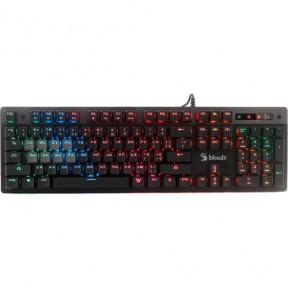 Клавиатура A4Tech Bloody B500 серый USB for gamer LED