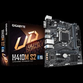 Материнская плата GIGABYTE H410M S2, LGA 1200, Intel H410, mATX, Ret