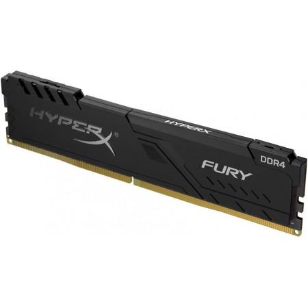 Модуль памяти для компьютера DIMM DDR4 4Gb Kingston 2666MHz DDR4 CL15 DIMM HyperX FURY Black HX426C15FB/4